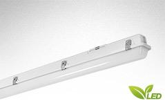 PAC-D LED eco Feuchtraumleuchte und Leuchte höherer Schutzart mit IP65