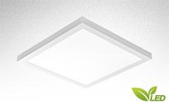 FLAT-A LED, Moderne LED Penal Anbauleuchte und Anbaupanel