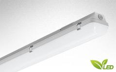 LZP LED - Fluolite LED Feuchtraumleuchte-Wannenleuchte, LED Leuchte höherer Schutzart.